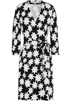 Diane Von Furstenberg Woman New Julian Two Printed Silk-jersey Wrap Dress Off-white