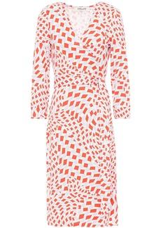 Diane Von Furstenberg Woman New Julian Two Printed Stretch-jersey Wrap Dress Ivory