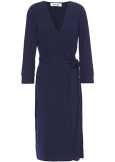 Diane Von Furstenberg Woman New Julian Two Stretch-jersey Wrap Dress Navy