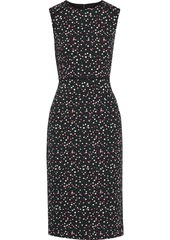 Diane Von Furstenberg Woman Pace Cotton-blend Jacquard Dress Black
