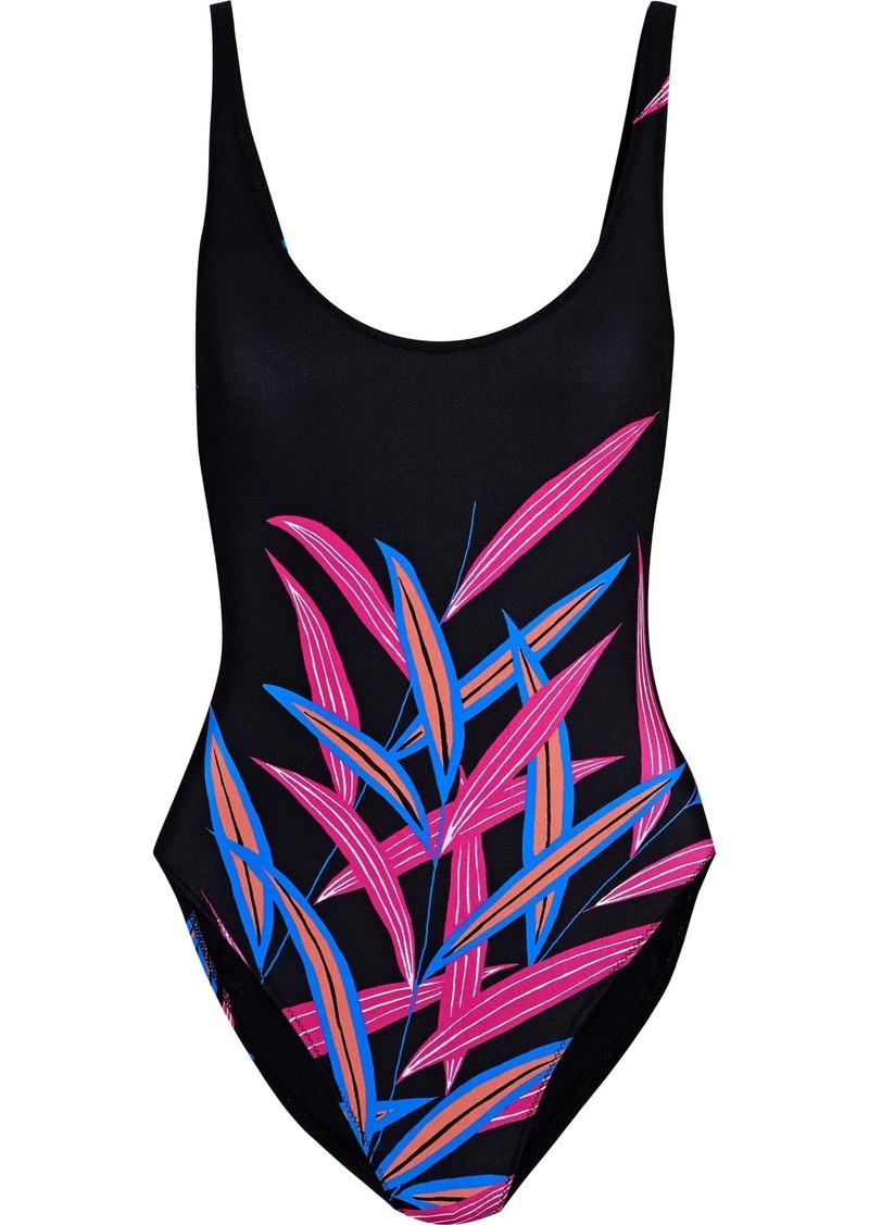 Diane Von Furstenberg Woman Printed Swimsuit Black