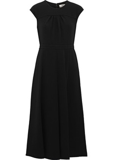 Diane Von Furstenberg Woman Raelynn Crepe Midi Dress Black