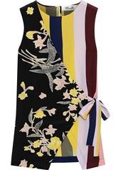 Diane Von Furstenberg Woman Sedona Printed Silk Crepe De Chine Wrap Top Multicolor