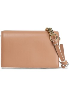 Diane Von Furstenberg Woman Soirée Mini Leather Shoulder Bag Sand