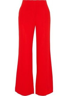 Diane Von Furstenberg Woman Stretch-crepe Flared Pants Red
