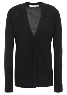 Diane Von Furstenberg Woman Wool And Cashmere-blend Cardigan Black