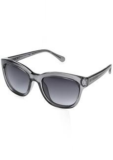 Diane Von Furstenberg Women's DVF612S Mariel Square Sunglasses  54mm