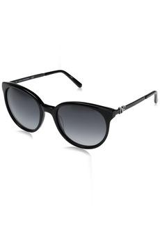 Diane Von Furstenberg Women's DVF618S Marianna Round Sunglasses  55mm