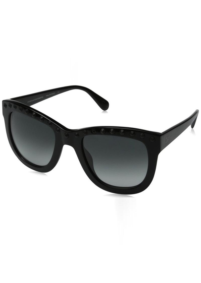 Diane von Furstenberg Women's Haley Square Sunglasses