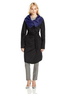 Diane von Furstenberg Women's Marilyn Doubleface Wool Coat