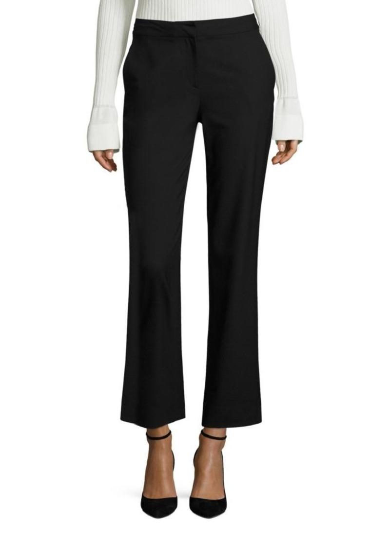 Diane von Furstenberg Wool Blend Cigarette Pants