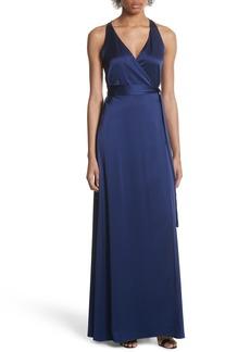 Diane von Furstenberg Wrap Gown