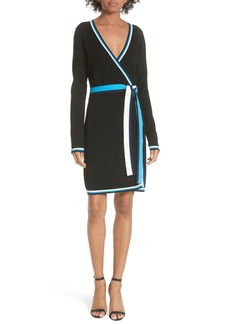 Diane von Furstenberg Wrap Sweater Dress