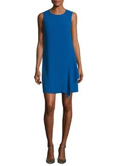 Diane von Furstenberg Wylda Sleeveless Ruffle-Trim Shift Dress