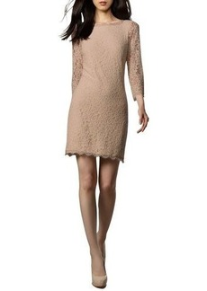 Diane von Furstenberg Zarita Lace V-Back Dress