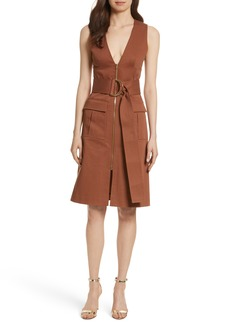 Diane von Furstenberg Zip Front Dress