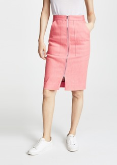 Diane von Furstenberg Zip Up Skirt