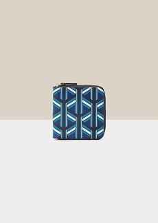 Diane Von Furstenberg Diedre Leather Zip Wallet