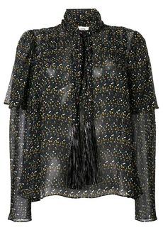 Diane Von Furstenberg dot-print blouse