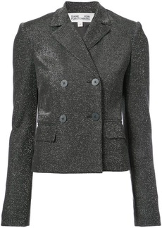 Diane Von Furstenberg double breasted cropped jacket