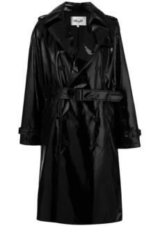 Diane Von Furstenberg double breasted trench coat