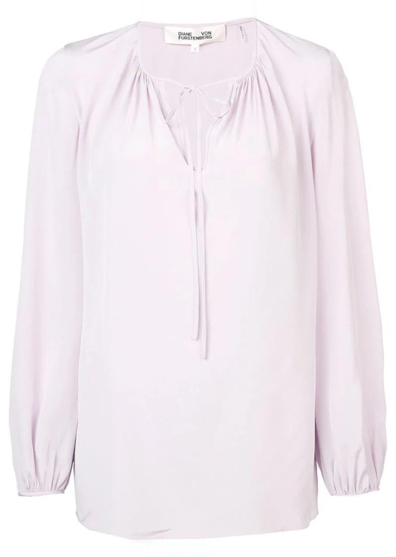 235211483e266e Diane Von Furstenberg drawstring blouse Now $150.00
