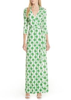 Diane Von Furstenberg DVF Abigail Silk Jersey Wrap Dress