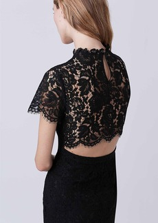 DVF Alma Lace Dress