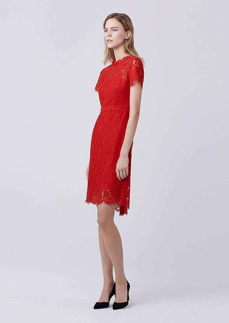 Diane Von Furstenberg DVF Alma Lace Dress