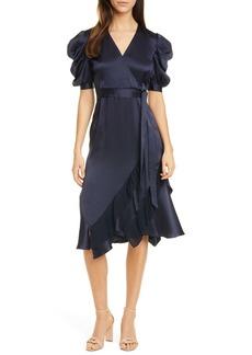 Diane Von Furstenberg DVF Ansley Faux Wrap Dress