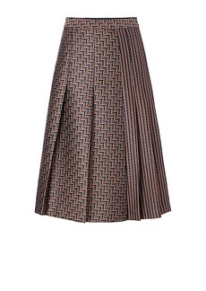 DVF Ava Pleated Skirt