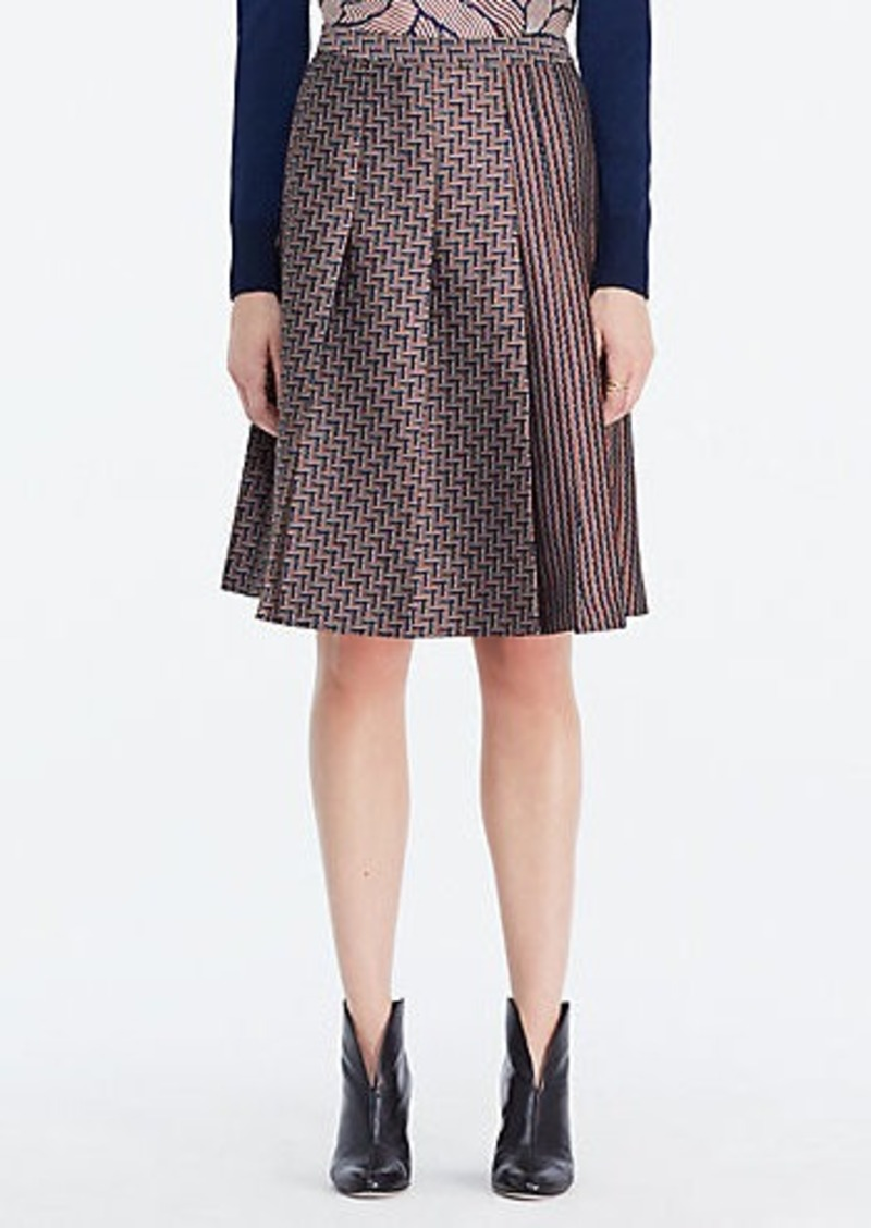 Diane Von Furstenberg DVF Ava Pleated Skirt