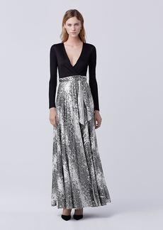 DVF Aviva Wrap Gown