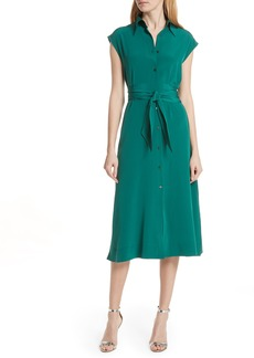 Diane Von Furstenberg DVF Belted Shirtdress