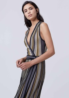DVF Cadenza Knit Wrap Dress