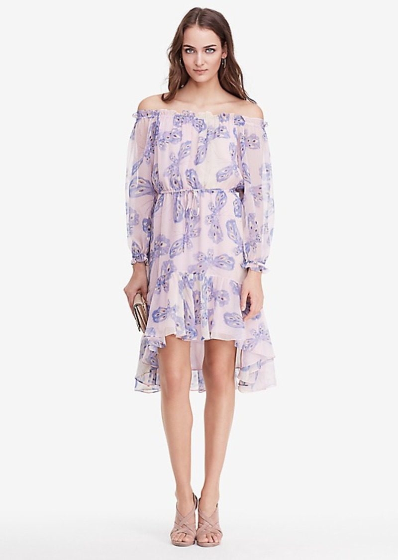 Diane Von Furstenberg DVF Camila Two Chiffon Dress
