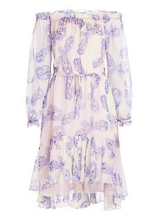 DVF Camila Two Chiffon Dress