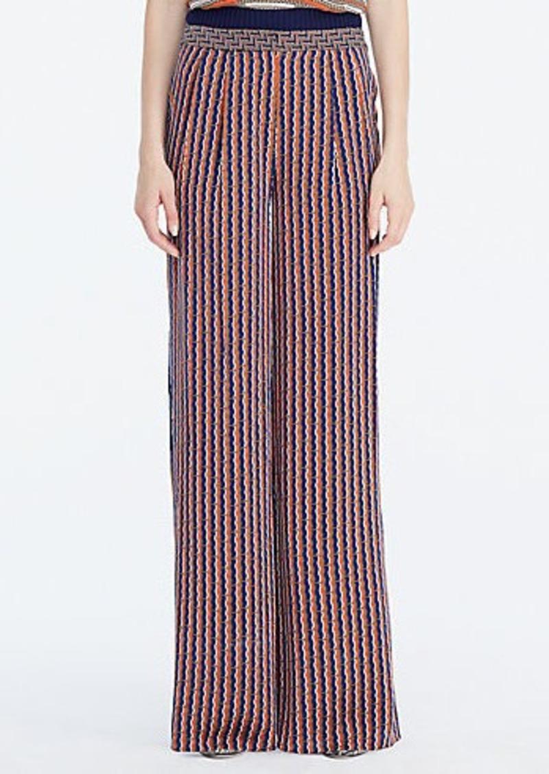 Diane Von Furstenberg DVF Campbell Wide Leg Trouser