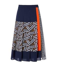 DVF Cici Pleated Skirt