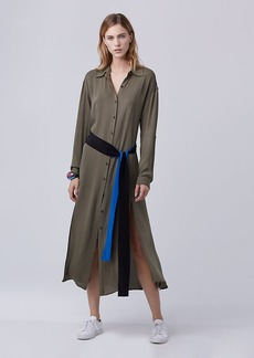 DVF Clarise Midi Shirt Dress