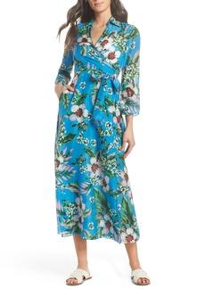 Diane Von Furstenberg DVF Cover-Up Wrap Dress