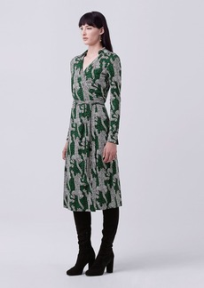 DVF Cybil Midi Wrap Dress