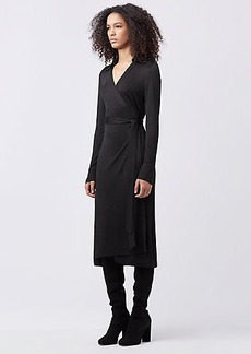DVF CYBIL WRAP DRESS