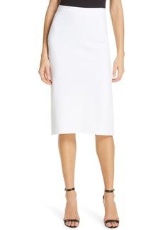 Diane Von Furstenberg DVF Darcey Pleat Back Skirt