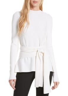 Diane Von Furstenberg DVF Devin Belted Sweater