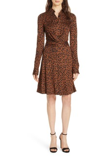 Diane Von Furstenberg DVF Didi Silk Jersey Dress