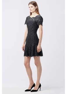 DVF FIFI A-LINE LACE DRESS