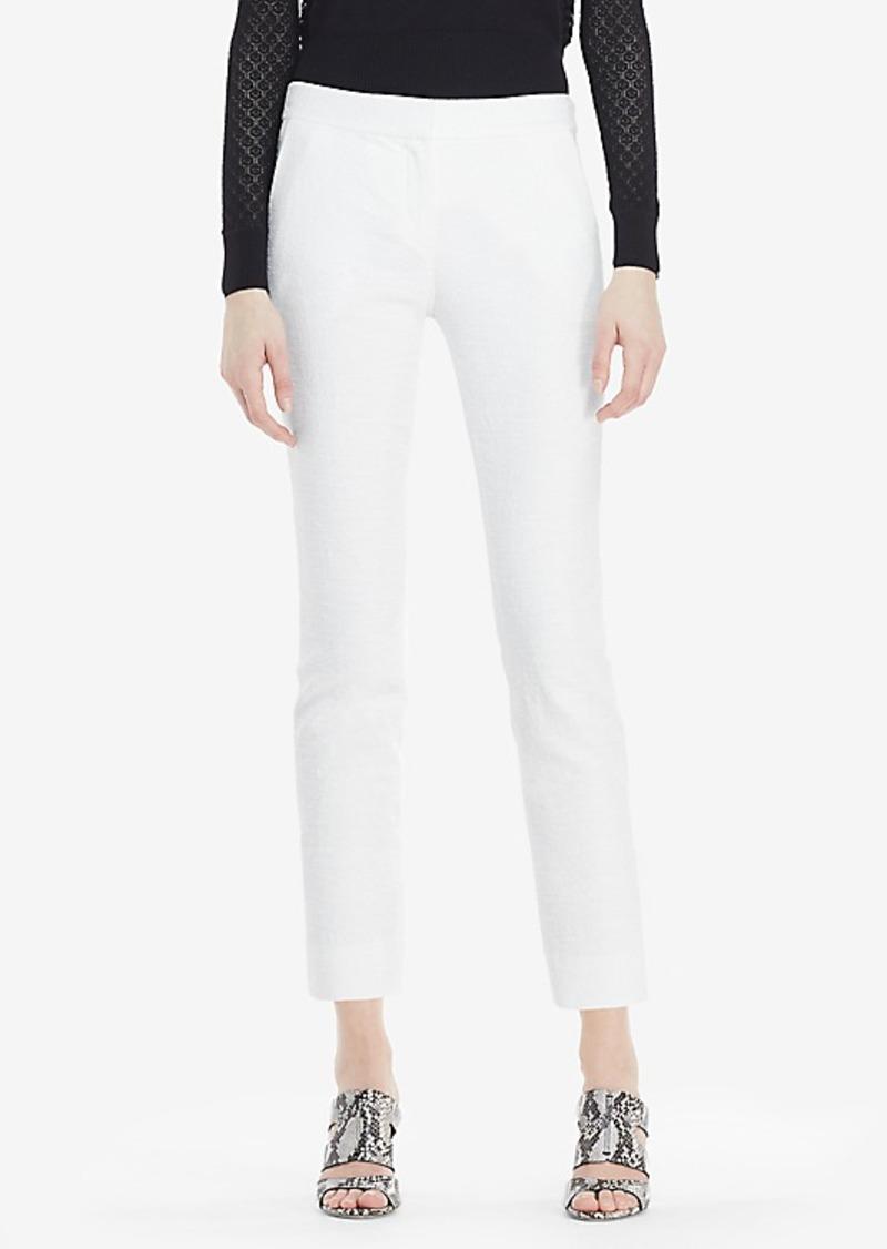 Diane Von Furstenberg DVF Gennifer Two Cotton Slub Cropped Pant