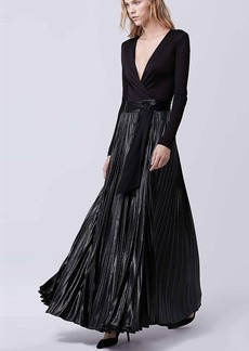 DVF Heavyn Wrap Gown