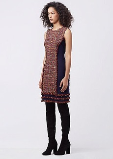DVF JACEY TWEED DRESS